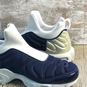59b83f95e7 Nike Shoes | Air Max Plus Slip Sp Midnight Navy Silver W | Poshmark